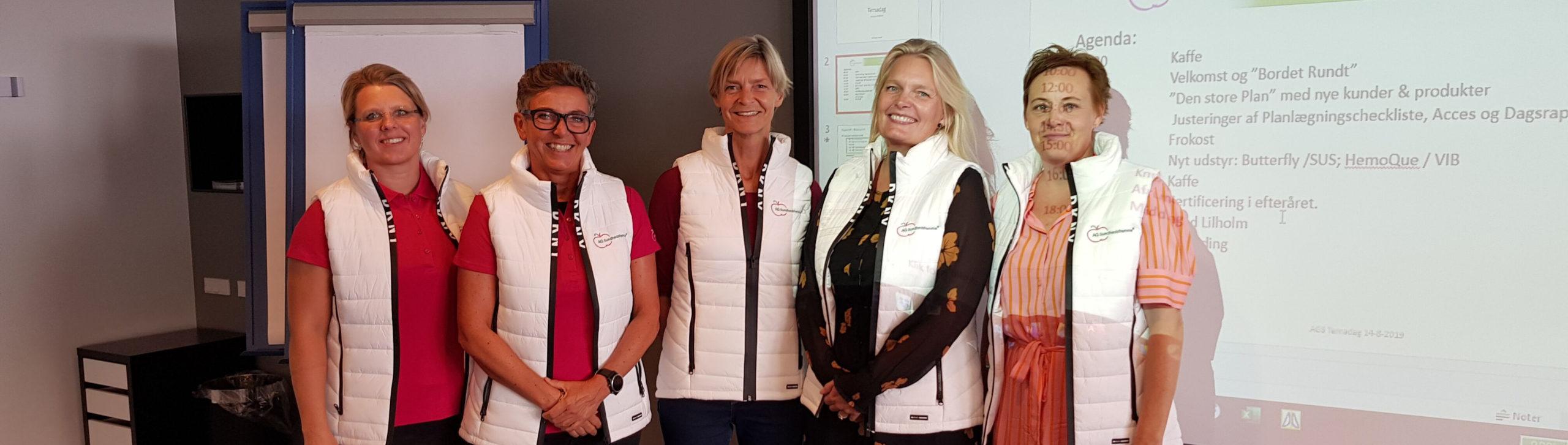 Sygeplejerske teamet i AGS