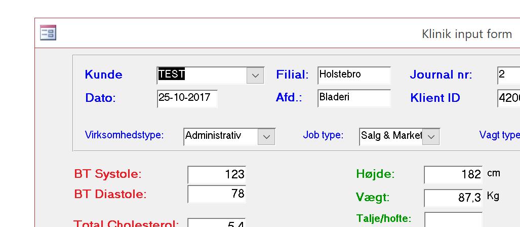 AGS Kogebogen - Klinikdatabasen 5