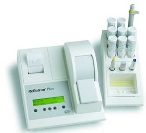 AGS Kogebogen - Reflotron blodprøve 2