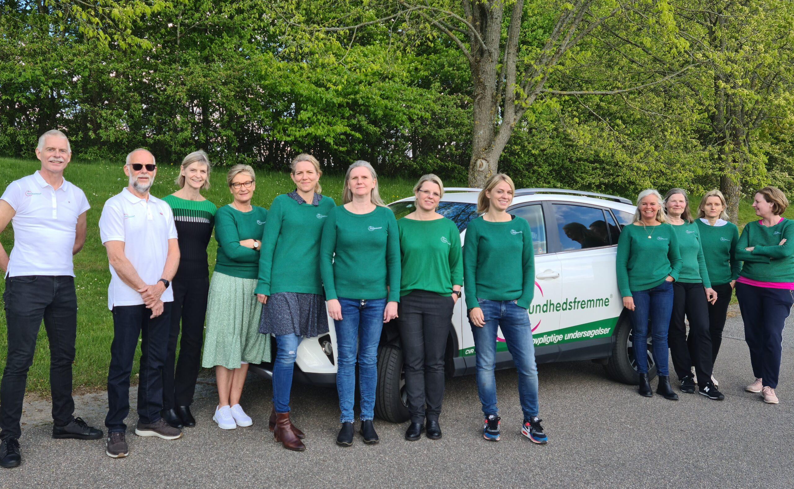 AGS sygeplejerske team